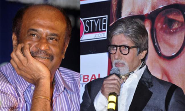 Big B launches Rajnikanth's 'Kochadaiiyaan'