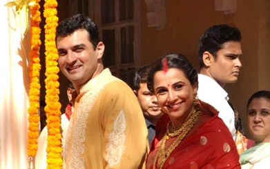 Vidya refutes reports of trouble with her husband