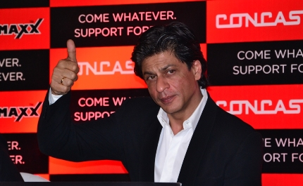 SRK emerges as second richest actor in world