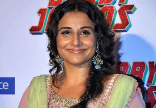 Interview: Vidya Balan won't spy on Siddharth