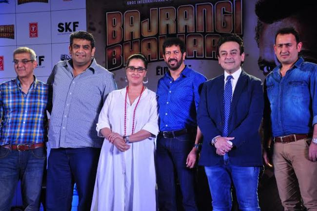 Bajrangi Bhaijaan's song launched
