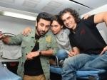 Ranbir takes Deepika on a memorable train journey