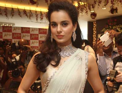 Kangana leads the way for the women folk in B-Town