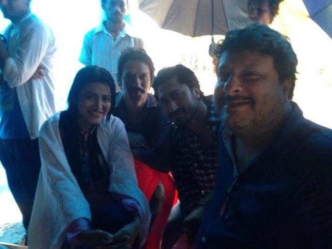 Shruti Haasan, Vidyut Jammwal shoot for film