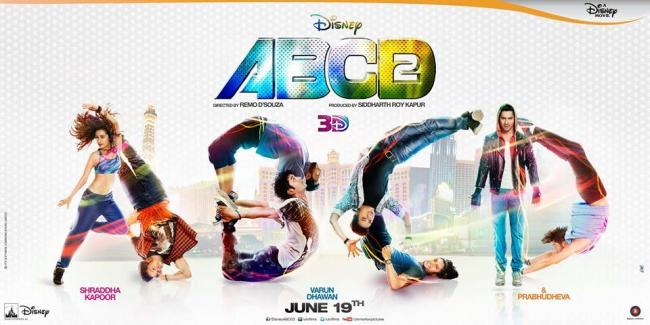 New poster of ABCD 2 released