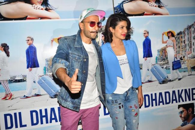 Cast attend special screening of Dil Dhadakne Do