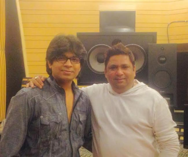 Ankit Tiwari records song for Ishq Click