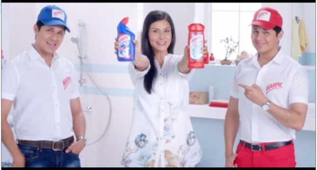 Actor Vishal Malhotra introduces his twin in the new Harpic ad