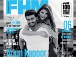 Arjun Kapoor appears on the cover of FHM Magazine