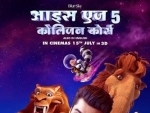 Arjun Kapoor launches Hindi poster of Ice Age 3