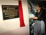 Sonam Kapoor inaugurated a plaque dedicated to Neerja Bhanot at St. Xavier's College