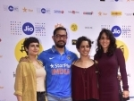 Aamir Khan attends JIO MAMI 18th Mumbai Film Festival with his reel and real life daughters