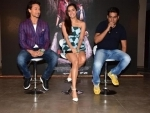Baaghi team launches action song