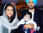 Harbhajan-Geeta's daughter makes first public appearance