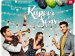 'Kapoor and Sons' poster released
