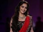 Madhuri Dixit wishes Varun for 'Dishoom'