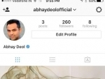 Abhay Deol joins Instagram, shares his painting