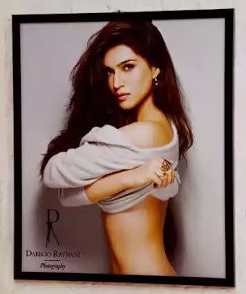 Kriti Sanon turns nostalgic at Dabboo Ratnani's calendar shoot.