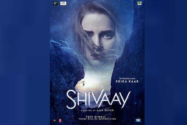 New Shivaay film poster unveils international face Erika Kaar