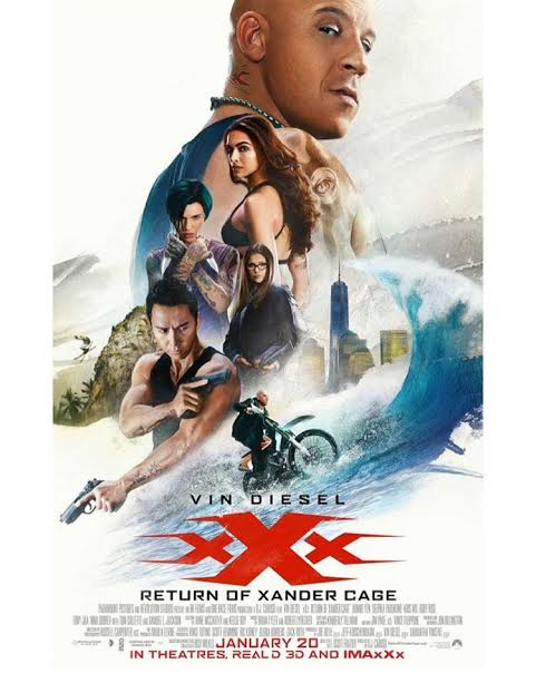 New xXx: Return of Xander Cage poster released, features Deepika