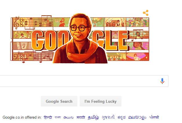 Google doodles to celebrate RD Burman's 77th birth anniversary