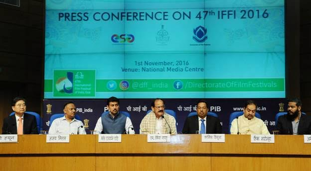 IFFI begins Nov 20 with films from 88 nations