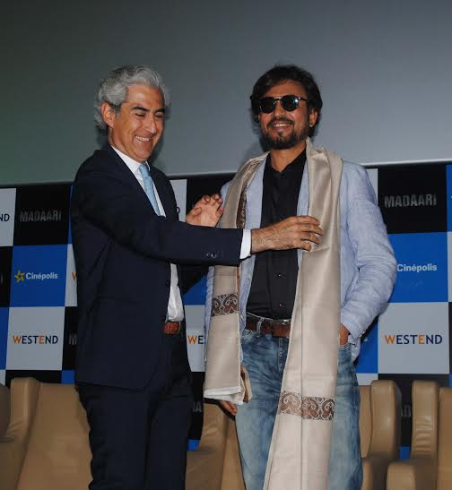 Cinepolis launches its second multiplex in Pune in Irrfan Khan's presence