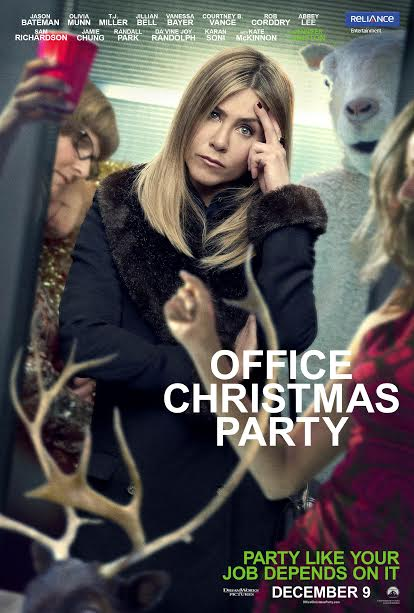Jennifer Aniston to play CEO in 'Office Christmas Party'
