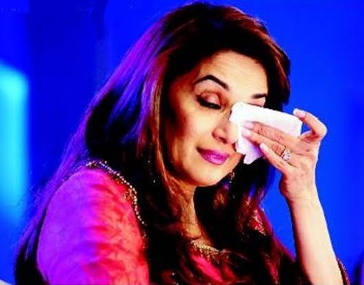 Madhuri Dixit breaks down on reality dance show set