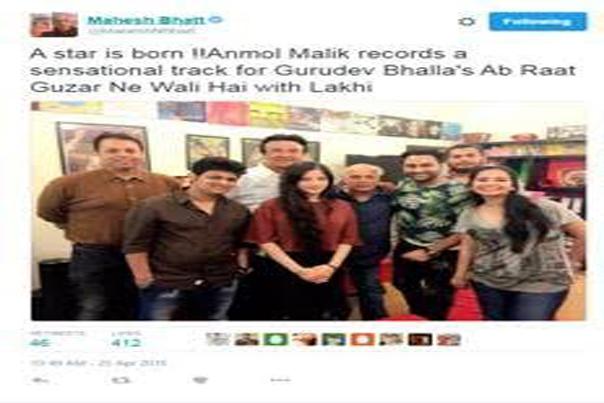 Mahesh Bhatt praises Anmoll Mallik