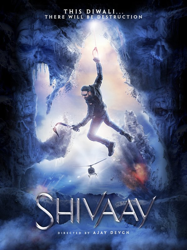Ajay Devgn shares poster of his upcoming film 'Shivaay' on Twitter