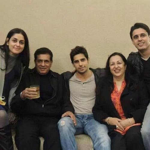Sidharth Malhotra wants his family to visit him often