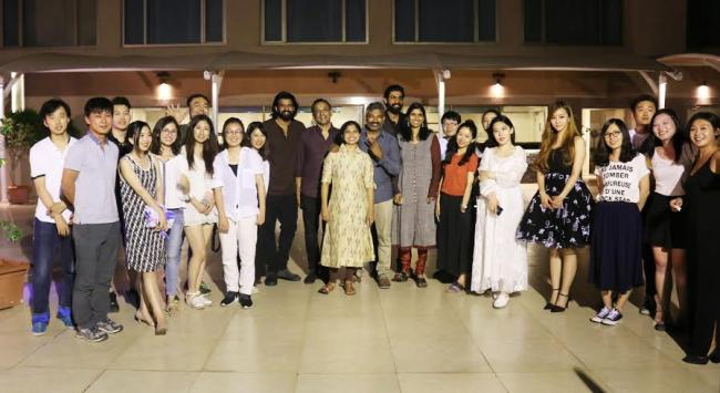 Chinese journalists visits Hyderabad to relive the 'Baahubali' experience