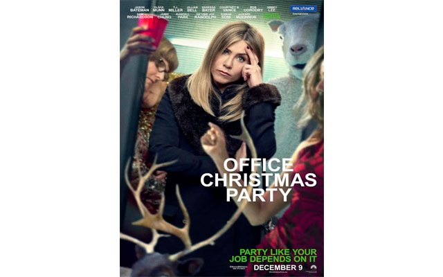 Is Office Christmas Party the new hangover of 2016?