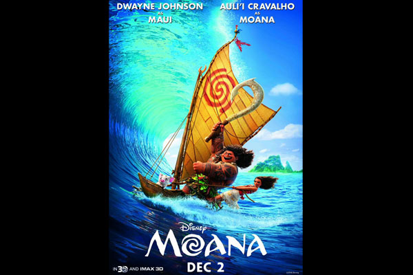 Moana to release in India on Dec 2