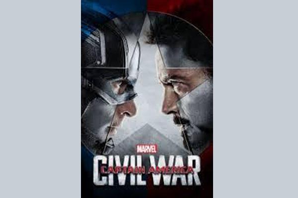 Star Movies telecast Captain America: Civil War on May 14