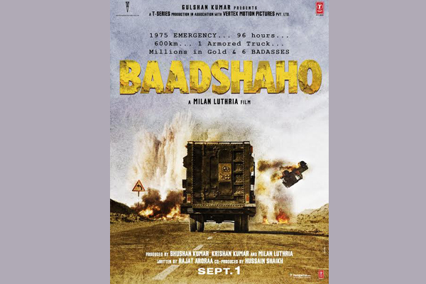 Baadshaho first look released, Ajay Devgn starrer promises action