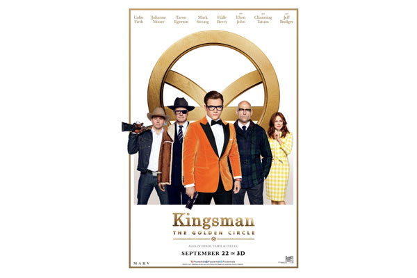 Kingsman: The Golden Circle new poster released