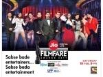 Filmfare Awards to air on Saturday