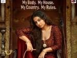 Begum Jaan: First poster released, features Vidya Balan