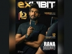 Rana Daggubati features on Exhibit magazine cover