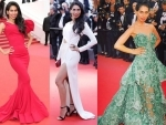 Actress Fagun Thakrar looked mesmerizing at 70th Cannes Film Festival anniversary