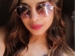 Priyanka Chopra posts cool photo of herself wearing sun glass
