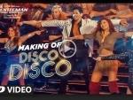 Making video of Disco Disco from A Gentleman - Sundar, Susheel, Risky released