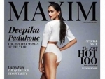 Deepika posts her picture from MAXIM magazine on Instagram