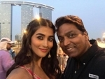 Pooja Hegde shoots for song with Ganesh Acharya in Abu Dhabi