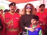 Kangana Ranaut visits Jammu, meets soldiers