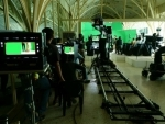 SRK shares image from set of Aanand L Rai's next project