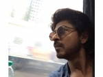 SRK takes a train journey to promote his film Raees