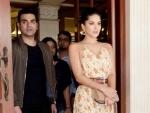 Arbaaz Khan shares image with Sunny Leone, busy promoting upcoming movie Tera Intezaar